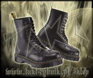 Glany 10 DR.MARTENS 8761 BXB Black Fine