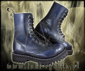 Glany 10 STEEL blue/black - niebieskie MONSTER