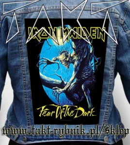 "Ekran na kurtkę IRON MAIDEN ""Fear of The Dark"""