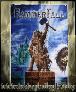 "Flaga duża HAMMERFALL ""(r)Evolution"""