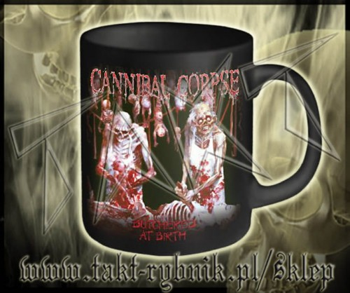 "Kubek CANNIBAL CORPSE ""Butchered At Birth"""